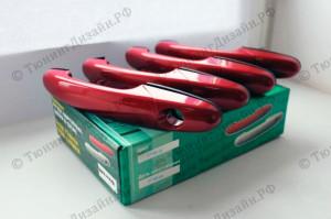 """Наружные ручки дверей (евроручки) """"Тюн-Авто"""" для Chevrolet Niva (ВАЗ 2123)"""