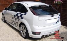 """Лип-спойлер """"Classic (Классик)"""" для Ford Focus 2 хэтчбек [2004-2008]"""