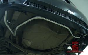"""Разводка выхлопной системы для бампера """"Concept"""" для Ford Focus 2 седан [2004-2011]"""