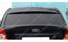"""Накладка на стекло (козырек) """"Concept"""" для Ford Focus 2 седан [2004-2011]"""