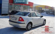 """Накладка на задний бампер """"FT"""" для Ford Focus 2 седан [2004-2008]"""