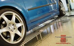 """Пороги """"ICC"""" для Ford Focus 2 купе [2004-2008]"""