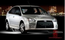"""Тюнинг обвес """"YTE"""" для Ford Focus 2 хэтчбек [2004-2008]"""