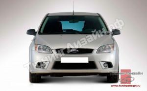 "Тюнинг обвес ""YTG"" для Ford Focus 2 хэтчбек [2004-2008]"
