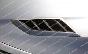 """Накладки на капот (жабры) """"Forsage"""" для Ford Focus 3"""