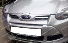 """Решетка радиатора (маска) """"Forsage"""" для Ford Focus 3"""