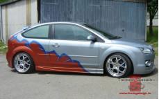 """Пороги """"Lord"""" для Ford Focus 2 купе [2004-2008]"""