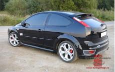 """Спойлер """"ST"""" (без стоп сигнала) для Ford Focus 2 хэтчбек и купе [2004-2008]"""