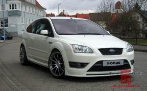 "Накладка на передний бампер (юбка) ""Sport"" для Ford Focus ST хэтчбек и купе [2004-2008]"