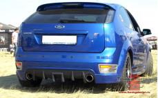 "Накладка на задний бампер (диффузор) ""Sport"" для Ford Focus ST хэтчбек и купе [2004-2008]"