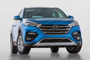 """Тюнинг комплект (обвес) """"Andromeda"""" Hyundai Tucson III [2015-2018]"""