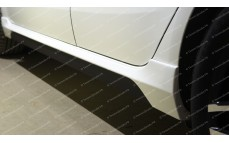 "Накладки на пороги ""GT"" для Kia Rio III седан/хэтчбек [2011–н.в.]"