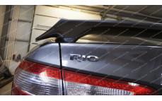 """Спойлер (без стоп-сигнала) """"GT"""" для Kia Rio III седан [2011–н.в.]"""