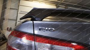 "Спойлер (без стоп-сигнала) ""GT"" для Kia Rio III седан [2011–2017]"