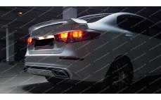 """Спойлер (со стоп-сигналом) """"GT"""" для Kia Rio III седан [2011–н.в.]"""