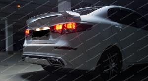 "Спойлер (со стоп-сигналом) ""GT"" для Kia Rio III седан [2011–2017]"