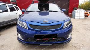 "Накладка на решетку радиатора ""GT"" для Kia Rio III седан/хэтчбек [2011–2014]"