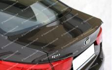 """Лип-спойлер """"BSM Blade"""" для Kia Rio III седан [2011–н.в.]"""