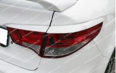 """Накладки на задние фонари (реснички) """"BSM Performance"""" для Kia Rio III седан [2015–2017]"""