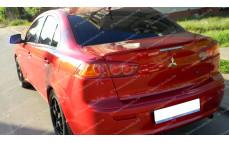 """Лип-спойлер """"ARS"""" для Mitsubishi Lancer 10 [2007–2016]"""