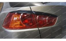 """Реснички на задние фонари """"ARS"""" для Mitsubishi Lancer 10 [2007–2016]"""
