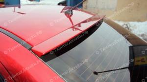 """Накладка на стекло (козырек) """"ARS"""" для Mitsubishi Lancer 10 [2007–н.в.]"""