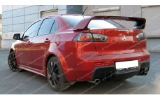 "Накладка на задний бампер ""ARS EVO"" для Mitsubishi Lancer 10 [2007–2016]"