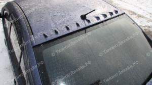 "Накладка на крышу (9 зубьев) ""EVO"" для Mitsubishi Lancer 10 [2007–н.в.]"