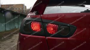 """Накладки на задние фонари """"ARS"""" для Mitsubishi Lancer 10 [2007–2016]"""