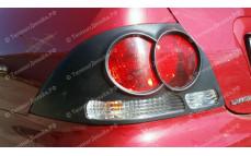 """Накладки на задние фонари """"ARS"""" для Mitsubishi Lancer 9 [2003-2009]"""