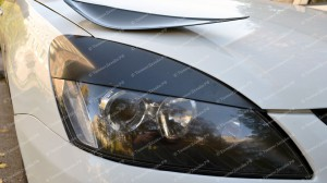 "Накладки на фары (реснички широкие) ""ARS"" для Mitsubishi Lancer 9 [2003-2009]"
