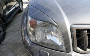 """Накладки на фары (реснички) """"ARS"""" для Toyota Land Cruiser Prado 120 [2002-2009]"""