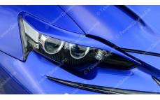 """Накладки на фары (реснички) """"MV"""" для Lexus IS-3 [2013-2016]"""