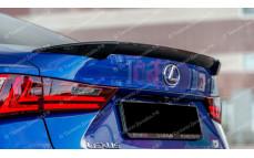 """Лип-спойлер """"MV"""" для Lexus IS-3 [2013-н.в.]"""