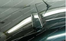 """Накладка на стекло (козырек) """"ARS"""" для Mazda 3 BK"""
