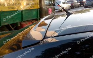 "Накладка на стекло (широкий козырек) ""ARS"" для Mazda 3 BK"