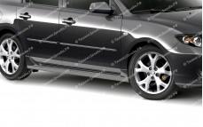 "Пороги ""ARS"" тюнинг для Mazda 3 BK (Мазда 3)"