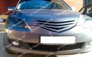 "Решетка радиатора (маска) ""Extremma (Спорт)"" для Mazda 3 BK"