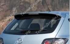 "Спойлер (без стоп-сигнала) ""MV"" тюнинг для Mazda 3 BK (Мазда 3)"