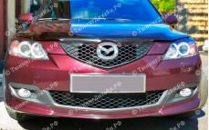 """Центральная вставка для клыков """"ARS"""" для Mazda 3 Touring"""