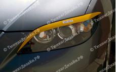 """Накладки на фары (реснички) """"ARS"""" для Mazda 3"""