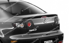"Лип-спойлер ""ARS Sport"" для Mazda 3 BK"