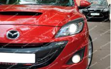 "Накладки на фары (реснички) ""ARS"" для Mazda 3 BL"