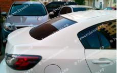 "Накладка на стекло (козырек) ""ARS1"" тюнинг для Mazda 3 BL (Мазда 3)"