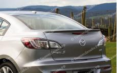 """Лип-спойлер """"ARS"""" тюнинг для Mazda 3 BL (Мазда 3)"""