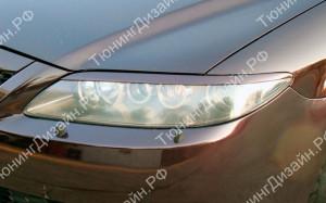 "Накладки на фары (реснички) ""MV"" для Mazda 6 GG"