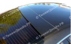 "Накладка на стекло (широкий козырек) ""ARS"" для Mazda 6 GH"