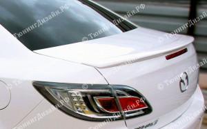 """Лип-спойлер """"ARS Sport"""" для Mazda 6 GH"""