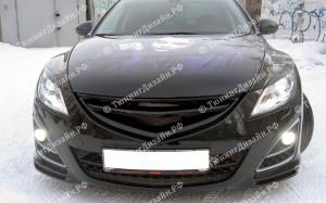 "Решетка радиатора (маска) ""MV2 Sport"" для Mazda 6 GH"