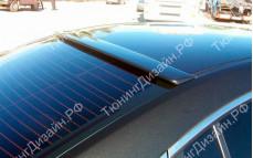 """Накладка на стекло (козырек) """"MV"""" для Mazda 6 GH"""